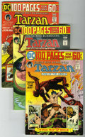 Bronze Age (1970-1979):Miscellaneous, Tarzan and Tarzan Family Group (DC, 1974-76) Condition: Average VF.Joe Kubert's artwork is featured in this group which inc... (Total:10 Comic Books)
