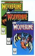 Modern Age (1980-Present):Superhero, Wolverine (Limited Series) Group (Marvel, 1982-88) Condition:Average NM-. Included here are two copies of #2, nine copies o...(Total: 15 Comic Books)