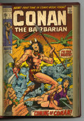 Bronze Age (1970-1979):Miscellaneous, Conan the Barbarian #1-16 Bound Volume (Marvel, 1970-72). Copies ofConan the Barbarian #1 (first comic book appearance ...