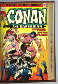 Bronze Age (1970-1979):Miscellaneous, Conan the Barbarian #33-48 Bound Volume (Marvel, 1973-75). Copiesof Conan the Barbarian #33, 34, 35, 36, 37, 38, 39, 40...