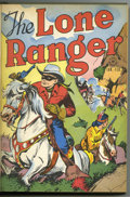Golden Age (1938-1955):Western, The Lone Ranger #1-12 Bound Volume (Dell, 1948-49). WesternPublishing file copies of Lone Ranger #1, 2, 3, 4, 5, 6, 7, ...