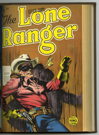 The Lone Ranger #7-18 Bound Volume (Dell, 1949). Western Publishing file copies of Lone Ranger #7, 8, 9, 10, 11, 12, 13...