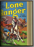 Golden Age (1938-1955):Western, The Lone Ranger #19-30 Bound Volume (Dell, 1950). WesternPublishing file copies of Lone Ranger #19, 20, 21, 22, 23 (ori...