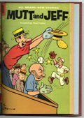 Silver Age (1956-1969):Humor, Mutt and Jeff #104-114 Bound Volume (Dell, 1958-59). Western Publishing file copies of Mutt and Jeff #104, 104, 105, 106...