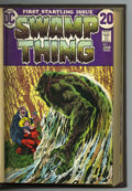 Bronze Age (1970-1979):Horror, Swamp Thing #1-16 Bound Volume (DC, 1972-75). Copies of Swamp Thing#1 (origin), 2, 3 (first full appearance of Patchwor...