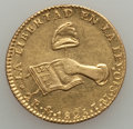 Mexico, Mexico: Republic gold 2 Escudos 1825 Mo-JM AU - Scratched andCleaned,...