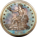 Proof Trade Dollars, 1874 T$1 PR64 Cameo PCGS....