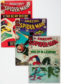 The Amazing Spider-Man Group of 18 (Marvel, 1965-71) Condition: Average VG.... (Total: 18 Comic Books)