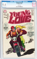 Silver Age (1956-1969):Romance, Young Love #76 (DC, 1969) CGC NM 9.4 White pages....
