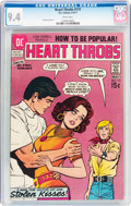 Bronze Age (1970-1979):Romance, Heart Throbs #131 (DC, 1971) CGC NM 9.4 White pages....