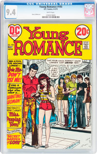 Young Romance #193 (DC, 1973) CGC NM 9.4 White pages