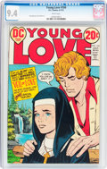 Bronze Age (1970-1979):Romance, Young Love #104 (DC, 1973) CGC NM 9.4 White pages....