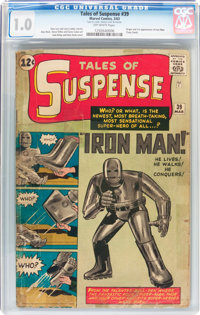 Tales of Suspense #39 (Marvel, 1963) CGC FR 1.0 Off-white pages