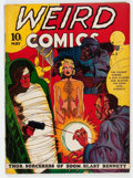 Golden Age (1938-1955):Horror, Weird Comics #2 (Fox Features Syndicate, 1940) Condition: ApparentFN-....
