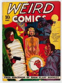 Weird Comics #2 (Fox Features Syndicate, 1940) Condition: Apparent FN-