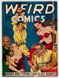 Golden Age (1938-1955):Horror, Weird Comics #4 (Fox Features Syndicate, 1940) Condition: QualifiedVG/FN....