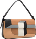 Luxury Accessories:Bags, Fendi Limited Edition Baguette Mania Collection Barley BrownLeather 3D Colorblock Baguette Bag. Excellent to PristineCon...