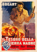 "Movie Posters:Film Noir, The Treasure of the Sierra Madre (Warner Brothers, 1948). Italian 2- Fogli (39"" X 55"") Luigi Martinati Artwork.. ..."