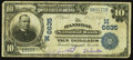 National Bank Notes:Missouri, Hannibal, MO - $10 1902 Date Back Fr. 616 The Hannibal NB Ch. #(M)6635. ...