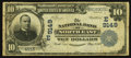 National Bank Notes:Pennsylvania, North East, PA - $10 1902 Plain Back Fr. 626 The NB of North EastCh. # (E)9149. ...