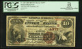 Gastonia, NC - $10 1882 Brown Back Fr. 484 The First NB Ch. # (S)4377