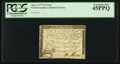 Colonial Notes:North Carolina, North Carolina April 2, 1776 $6 Goat PCGS Extremely Fine 45PPQ.....