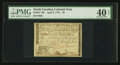 Colonial Notes:North Carolina, North Carolina April 2, 1776 $8 Leopard PMG Extremely Fine 40 Net.. ...