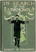 Books:Horror & Supernatural, Robert W. Chambers. In Search of the Unknown. New York andLondon: Harper & Brothers, 1904....