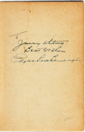 Books:Science Fiction & Fantasy, Edgar Rice Burroughs. INSCRIBED. Tarzan the Magnificent. Tarzana: Edgar Rice Burroughs, Inc., [1939]....