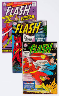 The Flash Group of 54 (DC, 1966-73) Condition: Average FN/VF.... (Total: 54 Comic Books)