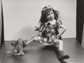 Photographs, Morton Bartlett (American, 1909-1992). Untitled (Girl Doll with her Dog), 1960. Gelatin silver. 3-5/8 x 4-3/4 inches (9....