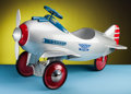 Decorative Arts, American, Viktor Schreckengost (American, 1906-2008). Pedal Pursuit Plane (Child's Pedal Car), 1941, Murray Ohio Manufacturing... (Total: 2 Items)