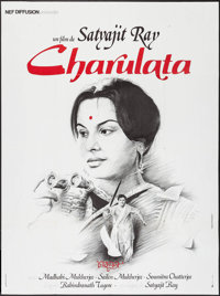 "Charulata & Other Lot (Nef Diffusion, 1981). First Release French Grande (47"" X 63"") & Trimmed Belgian..."