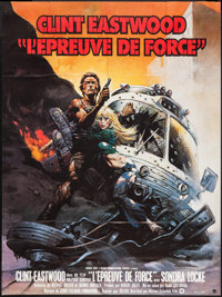"""The Gauntlet (Warner Brothers, 1978). French Grande (46"""" X 61.25""""). Action"""