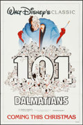 "Movie Posters:Animation, 101 Dalmatians (Buena Vista, R-1985). One Sheet (27"" X 41""). Animation.. ..."