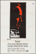"Movie Posters:Crime, The Godfather (Paramount, 1972). British One Sheet (27"" X 40"").Crime.. ..."