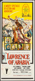 "Movie Posters:Academy Award Winners, Lawrence of Arabia (Columbia, 1963). Australian Daybill (13"" X 30""). Academy Award Style.. ..."