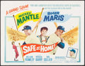 """Movie Posters:Sports, Safe at Home (Columbia, 1962). Title Lobby Card (11"""" X 14""""). Sports.. ..."""