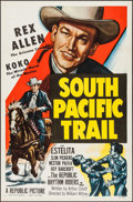 "Movie Posters:Western, South Pacific Trail (Republic, 1952). One Sheet (27"" X 41""). Western.. ..."