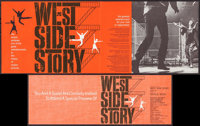"West Side Story & Others Lot (United Artists, 1961). Preview Invitation (11"" X 8""), One Sheet (27"" X..."