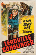 "Movie Posters:Western, Leadville Gunslinger & Other Lot (Republic, 1952). One Sheets (2) (27"" X 41""). Western.. ... (Total: 2 Items)"