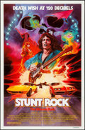 """Movie Posters:Action, Stunt Rock (Film Ventures International, 1980). One Sheet (27"""" X 41""""). Action.. ..."""