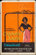"Movie Posters:Black Films, Carmen Jones (20th Century Fox, 1954). One Sheet (27"" X 41"") andPhotos (6). Black Films.. ... (Total: 7 Items)"