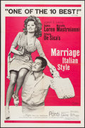"""Movie Posters:Foreign, Marriage Italian-Style & Other Lot (Embassy, 1964). One Sheet (27"""" X 41""""), Color Photo, & Photos (4) (8"""" X 10""""). Foreign.. ... (Total: 6 Items)"""