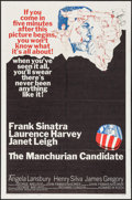 """Movie Posters:Thriller, The Manchurian Candidate (United Artists, 1962). One Sheet (27"""" X 41"""") & Photos (4) (8"""" X 10""""). Thriller.. ... (Total: 5 Items)"""