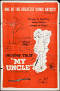 "Movie Posters:Foreign, Mon Oncle (Continental, 1959). One Sheet (27"" X 41""). Foreign.. ..."