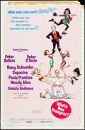 """Movie Posters:Comedy, What's New, Pussycat? (United Artists, 1965). One Sheet (27"""" X 41"""") Style B & Photos (4) (8"""" X 10""""). Comedy.. ... (Total: 5 Items)"""