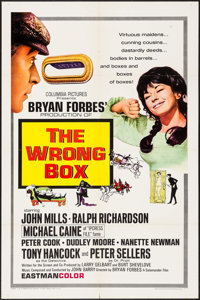"The Wrong Box (Columbia, 1966). One Sheet (27"" X 41"") & Color Photos (2) (8"" X 10""). Comedy..."