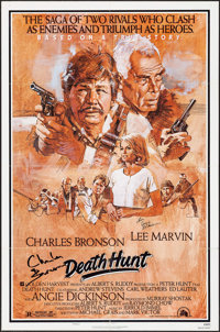 "Death Hunt & Others Lot (20th Century Fox, 1981). Autographed One Sheet & One Sheets (3) (27"" X 41&..."