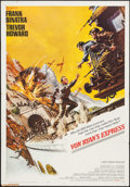 "Movie Posters:War, Von Ryan's Express (20th Century Fox, 1965). One Sheet (27"" X 41"").War.. ..."